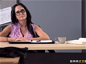 buxom professor Ava Addams is boinked by her college girl