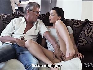 DADDY4K. parent takes part in spontaneous fucky-fucky with beauty Erica dark-hued